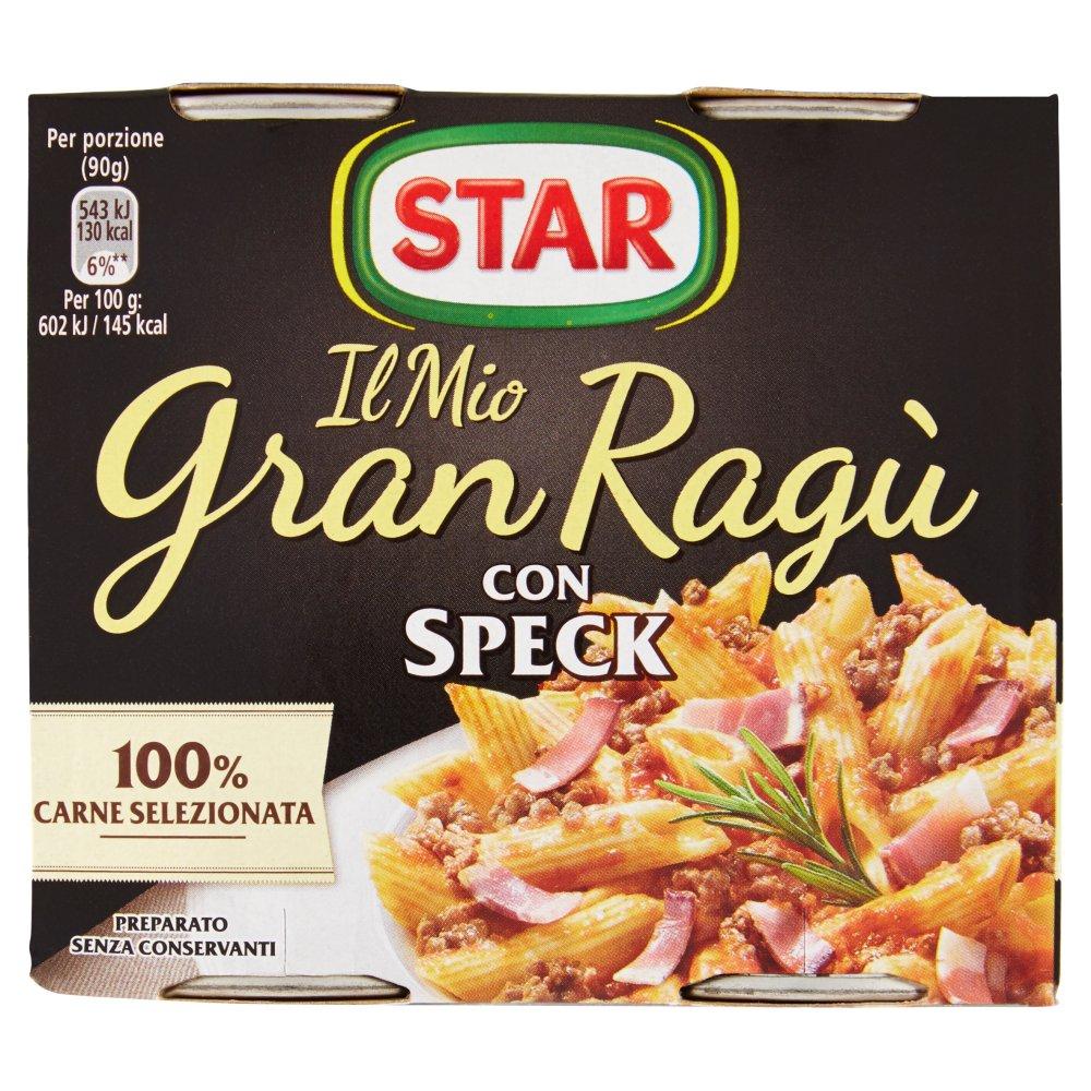 GRAN RAGU' STAR 180GX2 SPECK 100% ITALIA