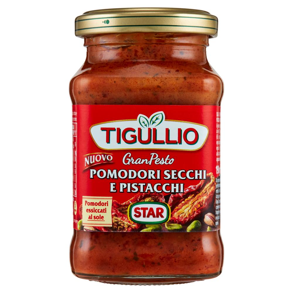 Tigullio GranPesto Pomodori Secchi e Pistacchi 190 g