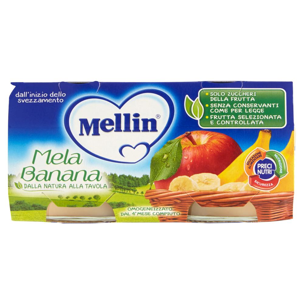 Mellin Mela Banana omogeneizzato 2 x 100 g