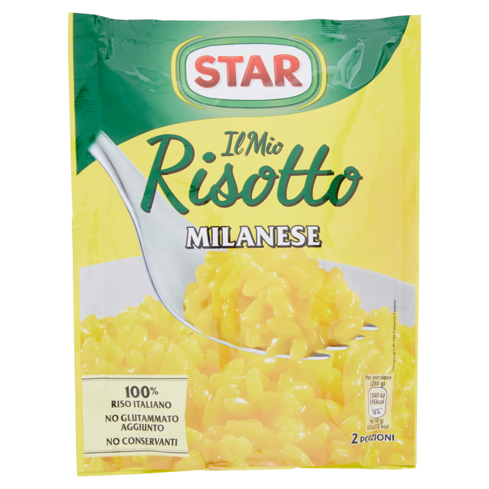 RISOTTO STAR 175G MILANESE