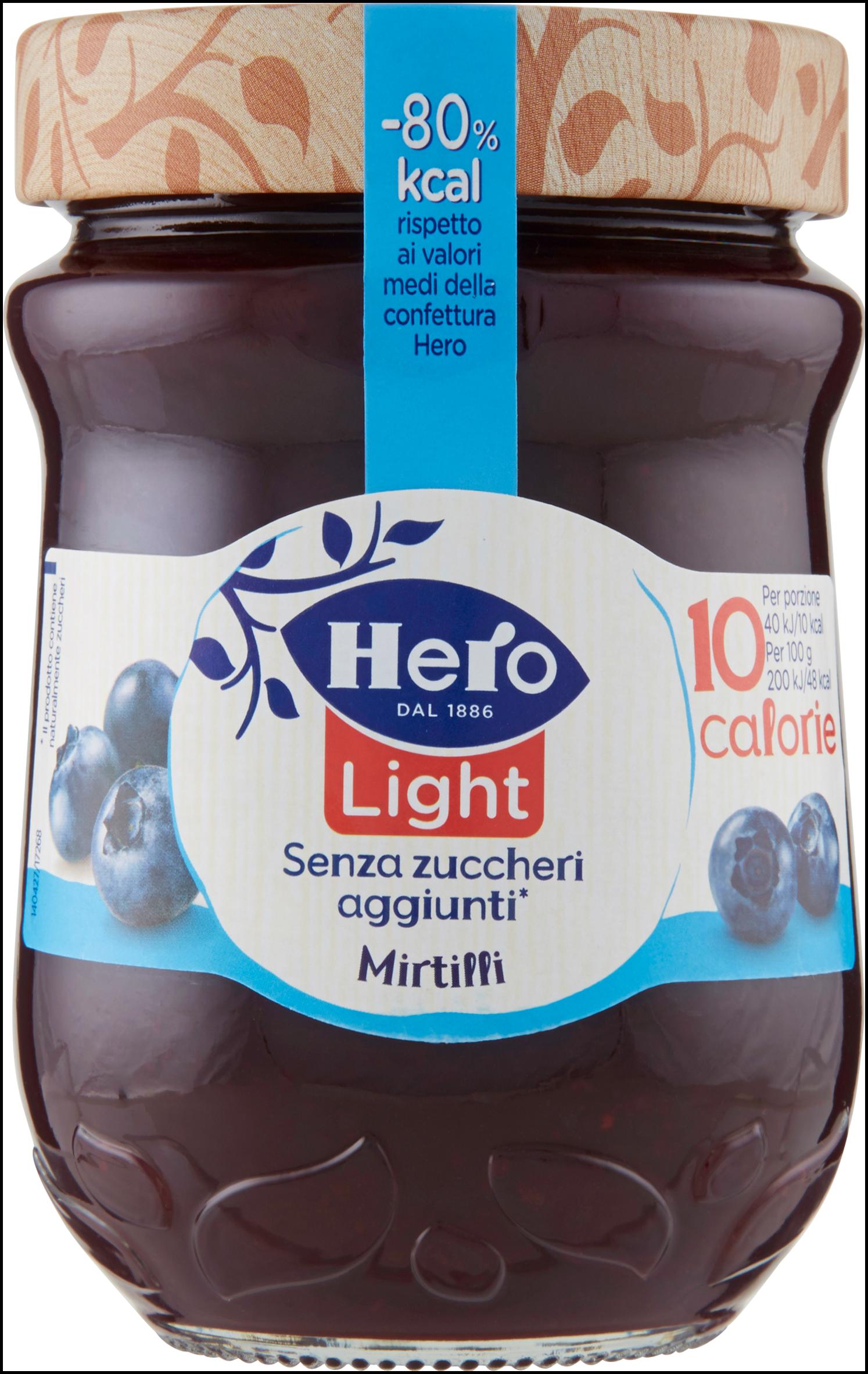 CONFETTURA LIGHT HERO 280G MIRTILLI