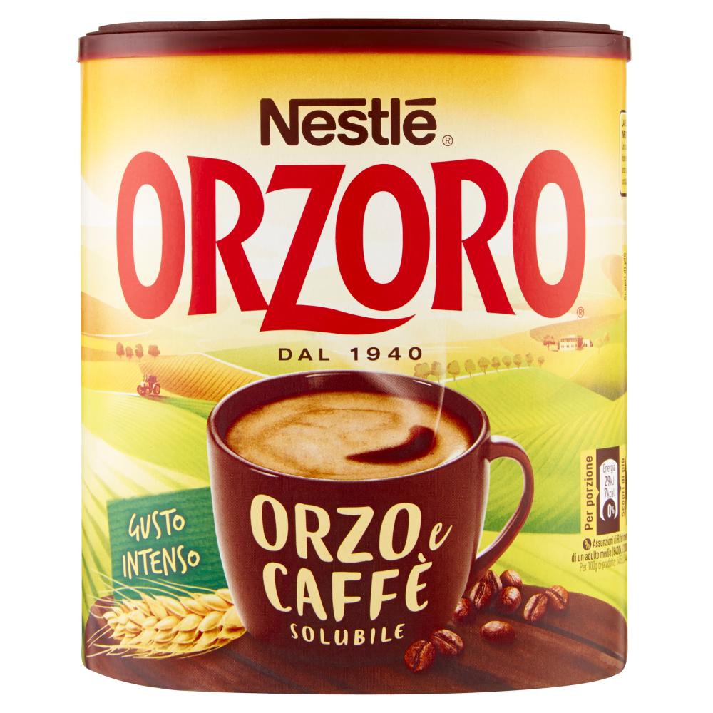 NESTLÉ ORZORO ORZO E CAFFÈ Orzo e caffè solubile barattolo 120g