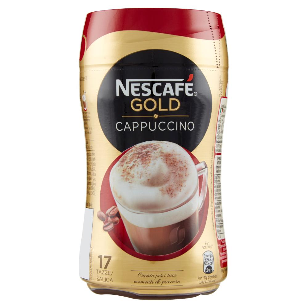 NESCAFÉ GOLD CAPPUCCINO preparato solubile per cappuccino barattolo 250g