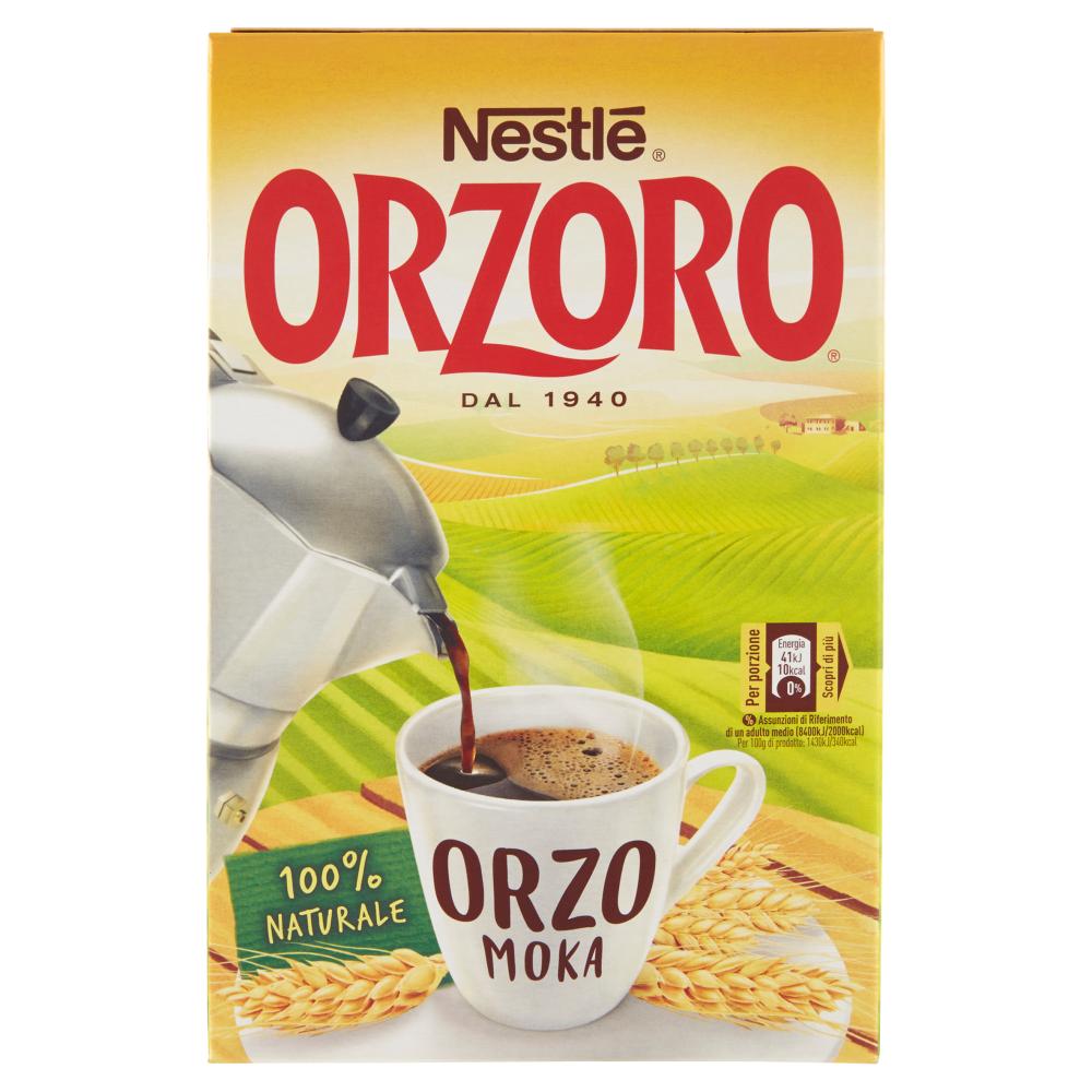 NESTLÉ ORZORO MOKA Orzo Macinato astuccio 500g