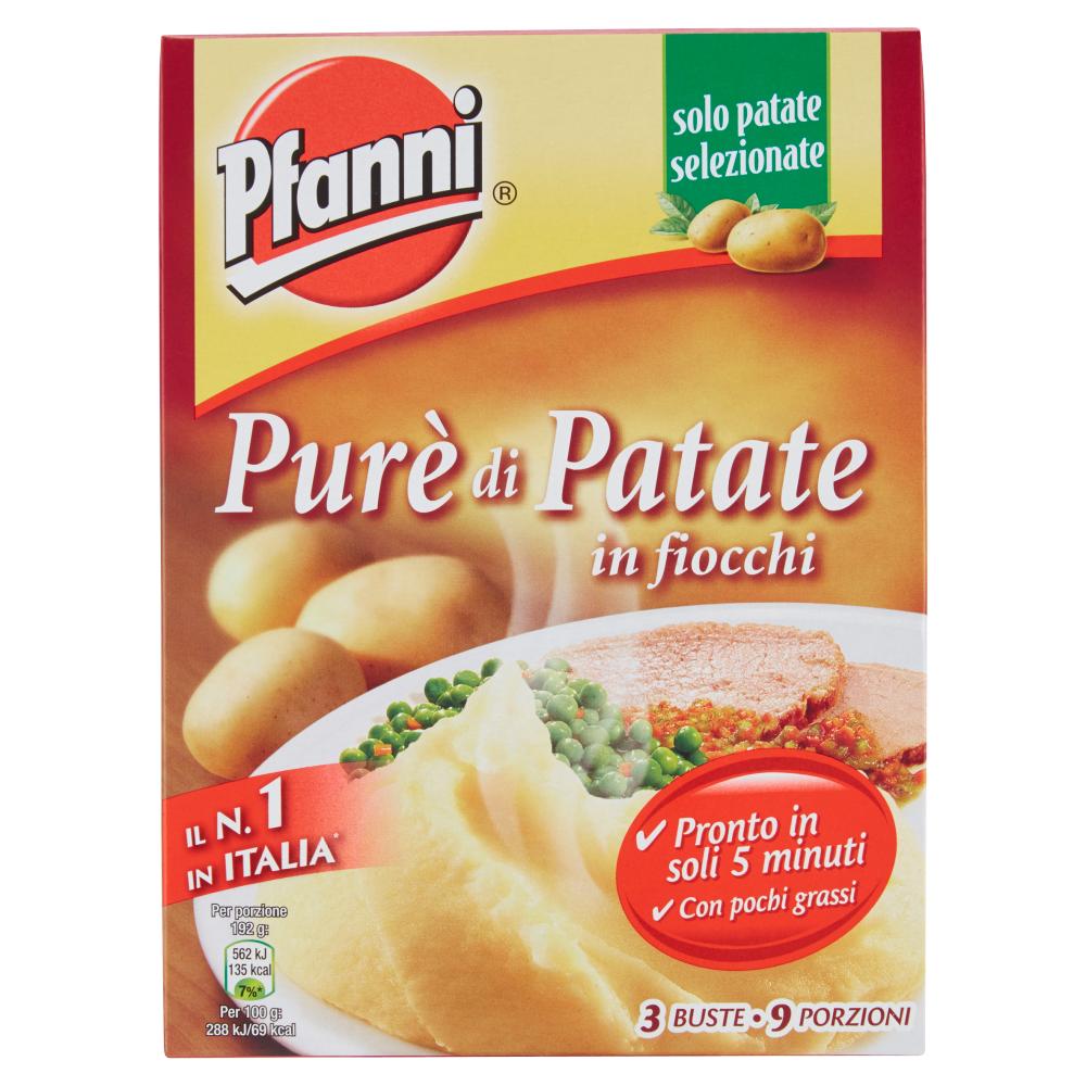 Pfanni Purè di Patate in fiocchi 3 x 75 g
