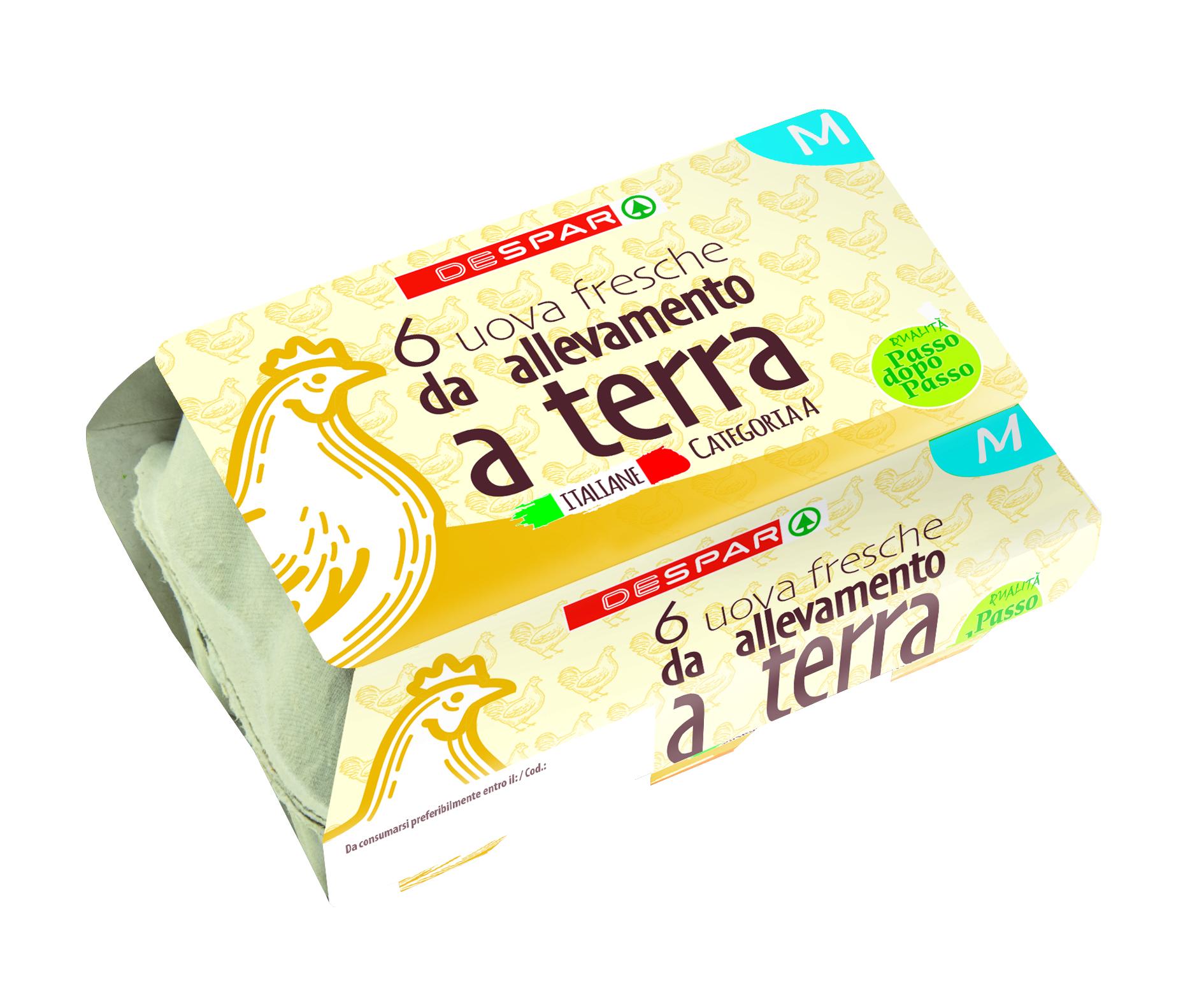 UOVA ALLEVATE A TERRA DESPAR MX6