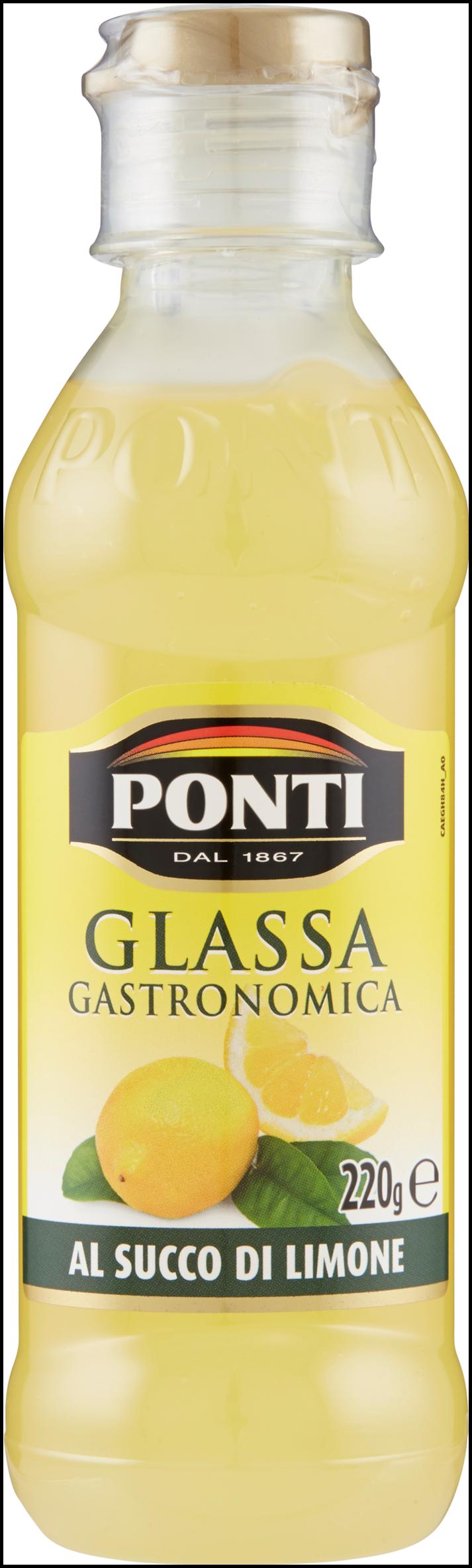GLASSA PONTI 220G SUCCO LIMONE