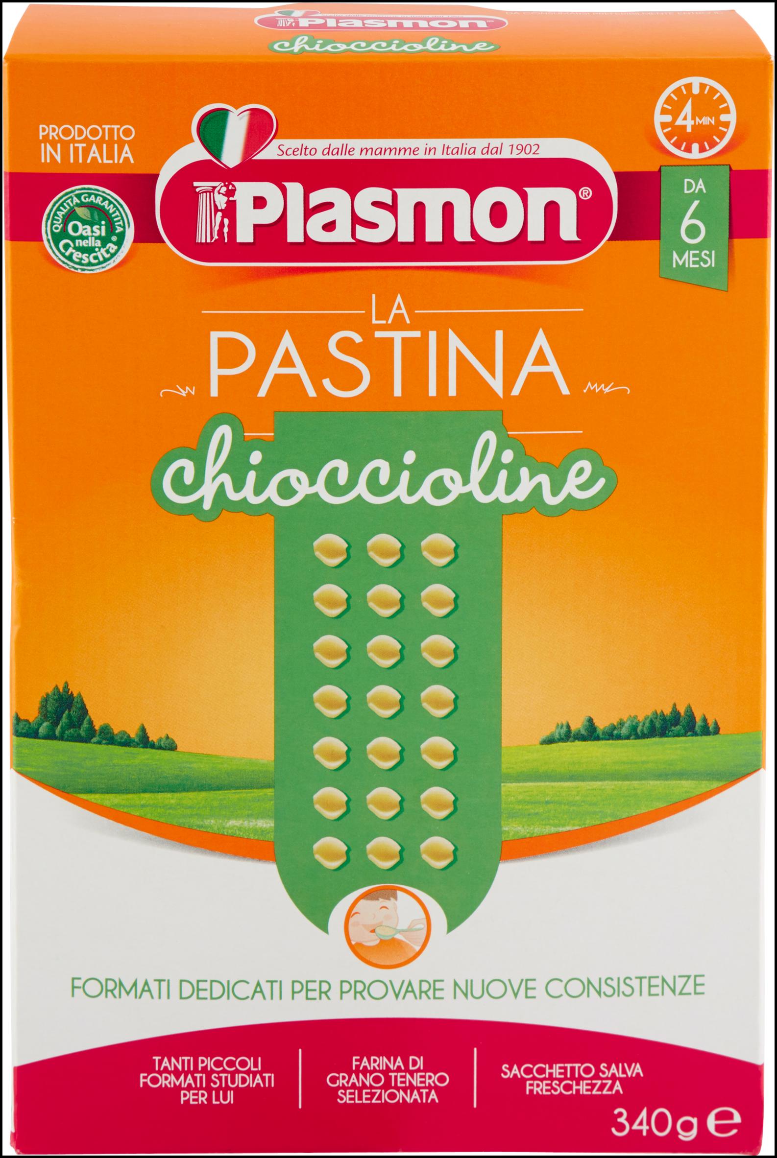 PASTINA PLASMON N.13 CHIOCCIOLINE 340G