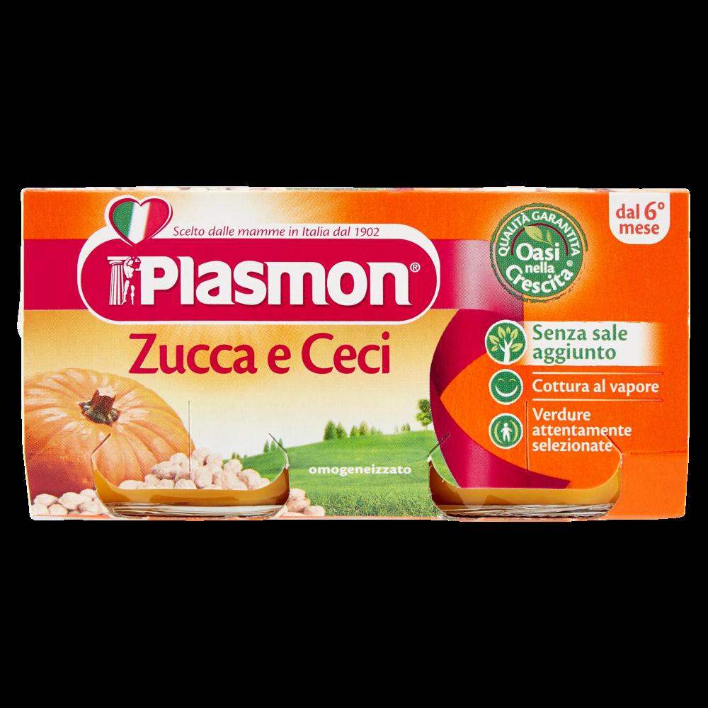 Plasmon Zucca e Ceci Omogeneizzato 2 x 80 g