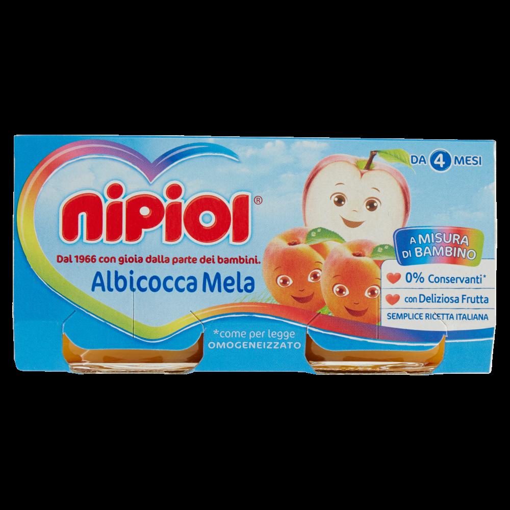 OMOG.NIPIOL 80GX2 ALBICOCCA/MELA