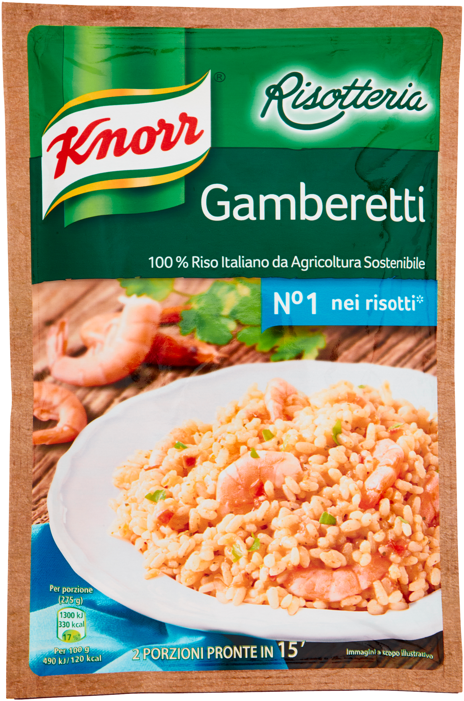 Knorr Risotteria Gamberetti 175 g