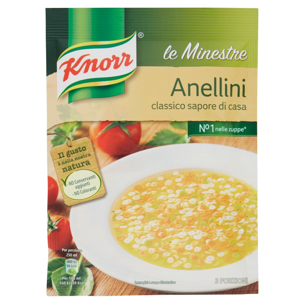 Knorr le Minestre Anellini 82 g