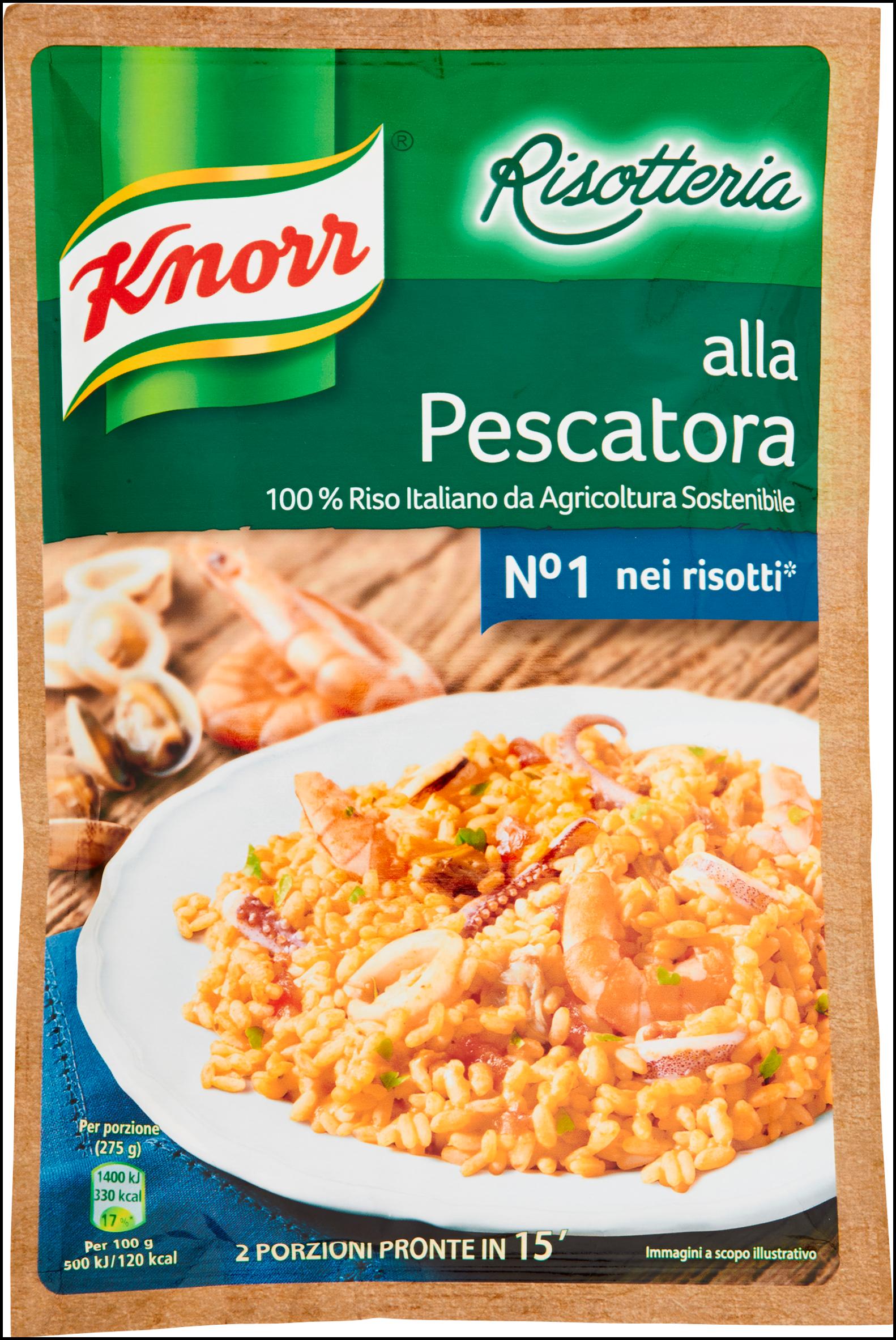 Knorr Risotteria alla Pescatora 175 g