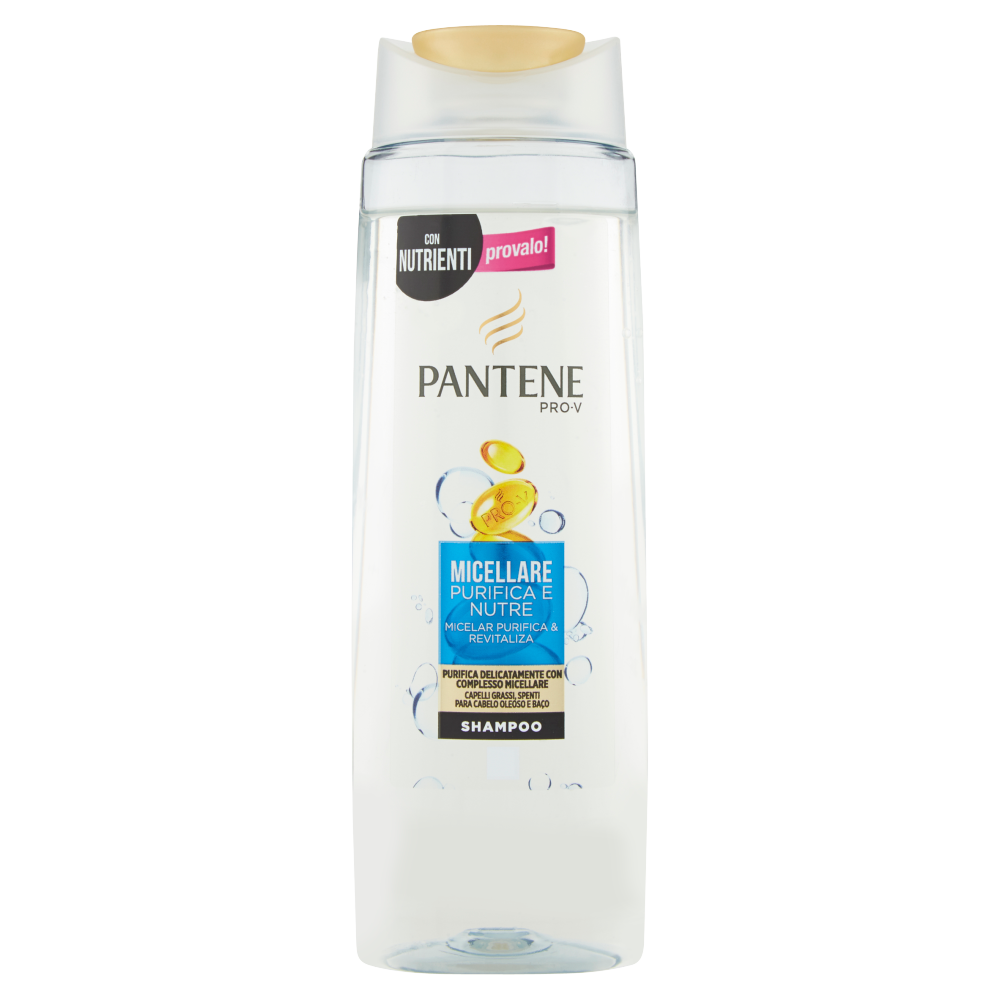 Pantene Pro-V Shampoo Micellare Purifica e Nutre 250 ml