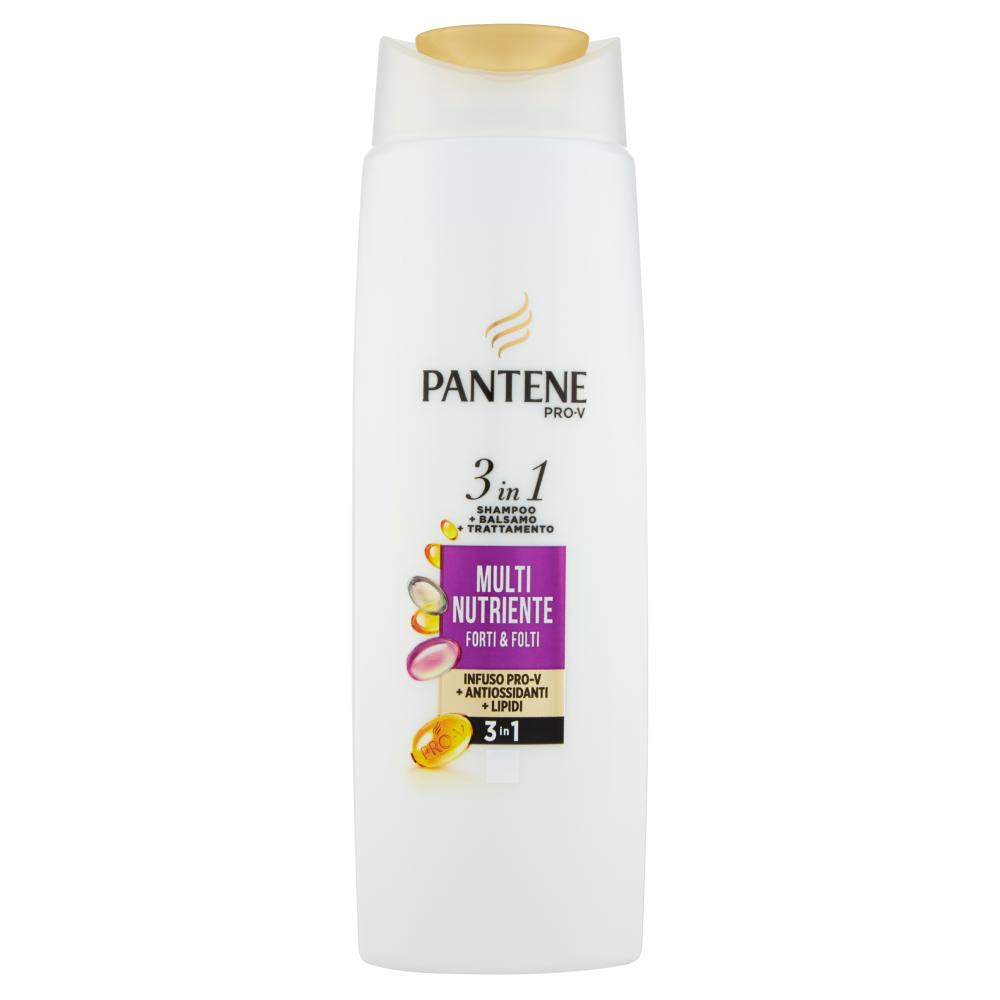 Pantene Pro-V 3in1 Shampoo+Balsamo+Trattamento MultiNutriente Forti & Folti 225 ml