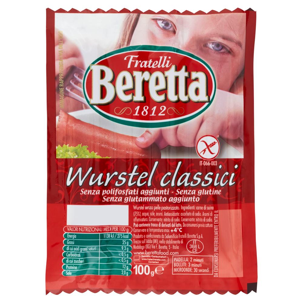 Fratelli Beretta Wurstel classici 100 g