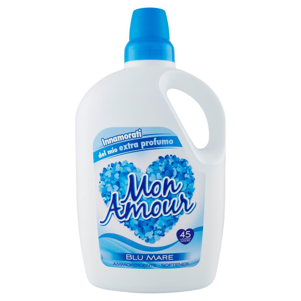 Mon Amour Ammorbidente Blu Mare 3 litri