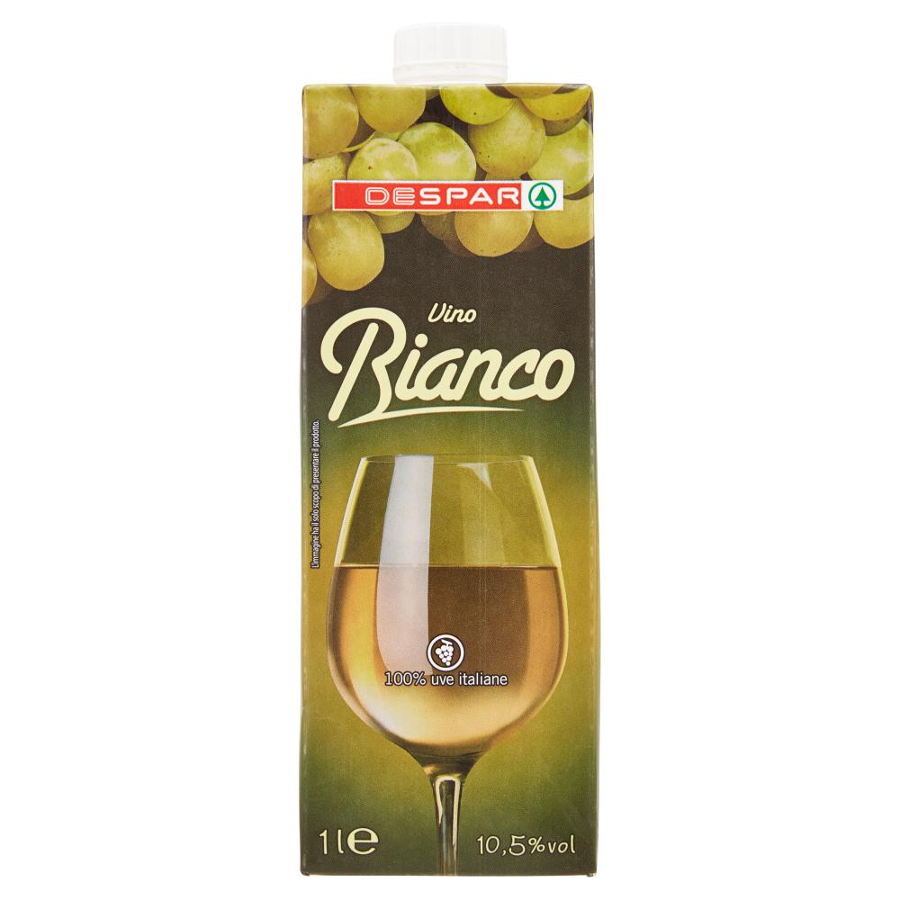 Despar Vino Bianco 10,5% vol brick 1 l
