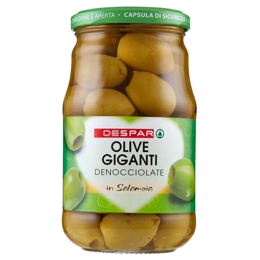 Despar Olive Giganti Denocciolate in Salamoia 560 g
