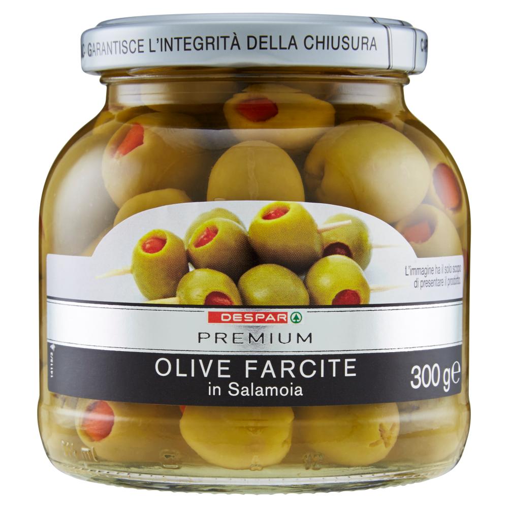 Despar Premium Olive Farcite in Salamoia 300 g