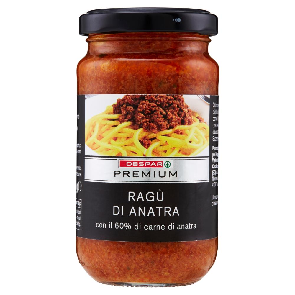 Despar Premium Ragù di Anatra 190 g