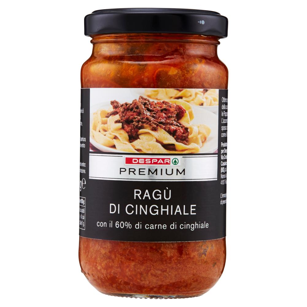 Despar Premium Ragù di Cinghiale 190 g
