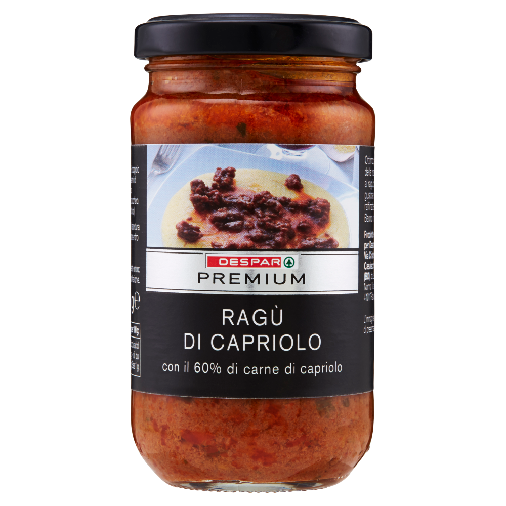 Despar Premium Ragù al Capriolo 190 g