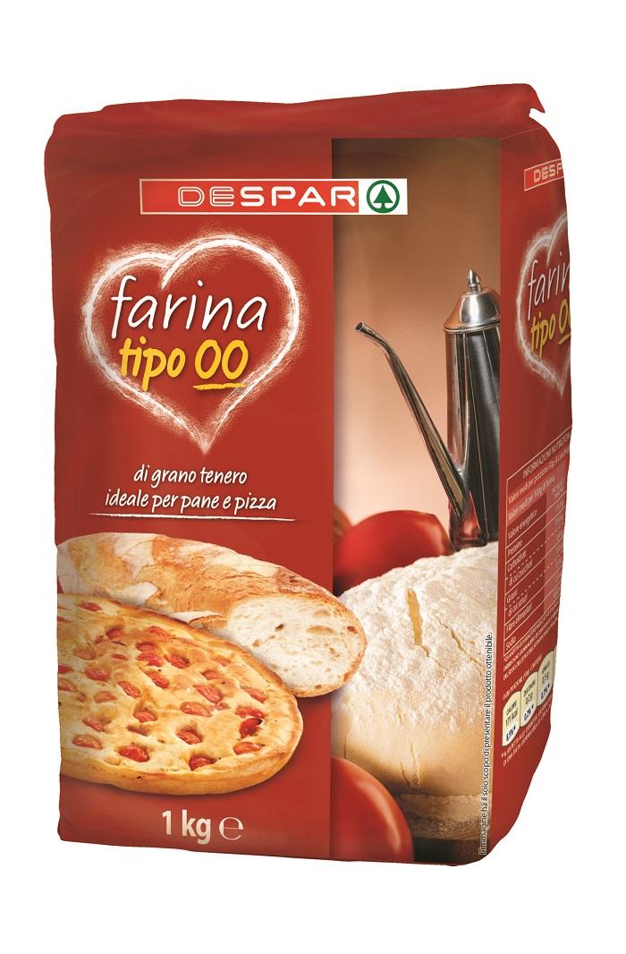 FARINA  00  DESPAR 1KG PER PIZZA
