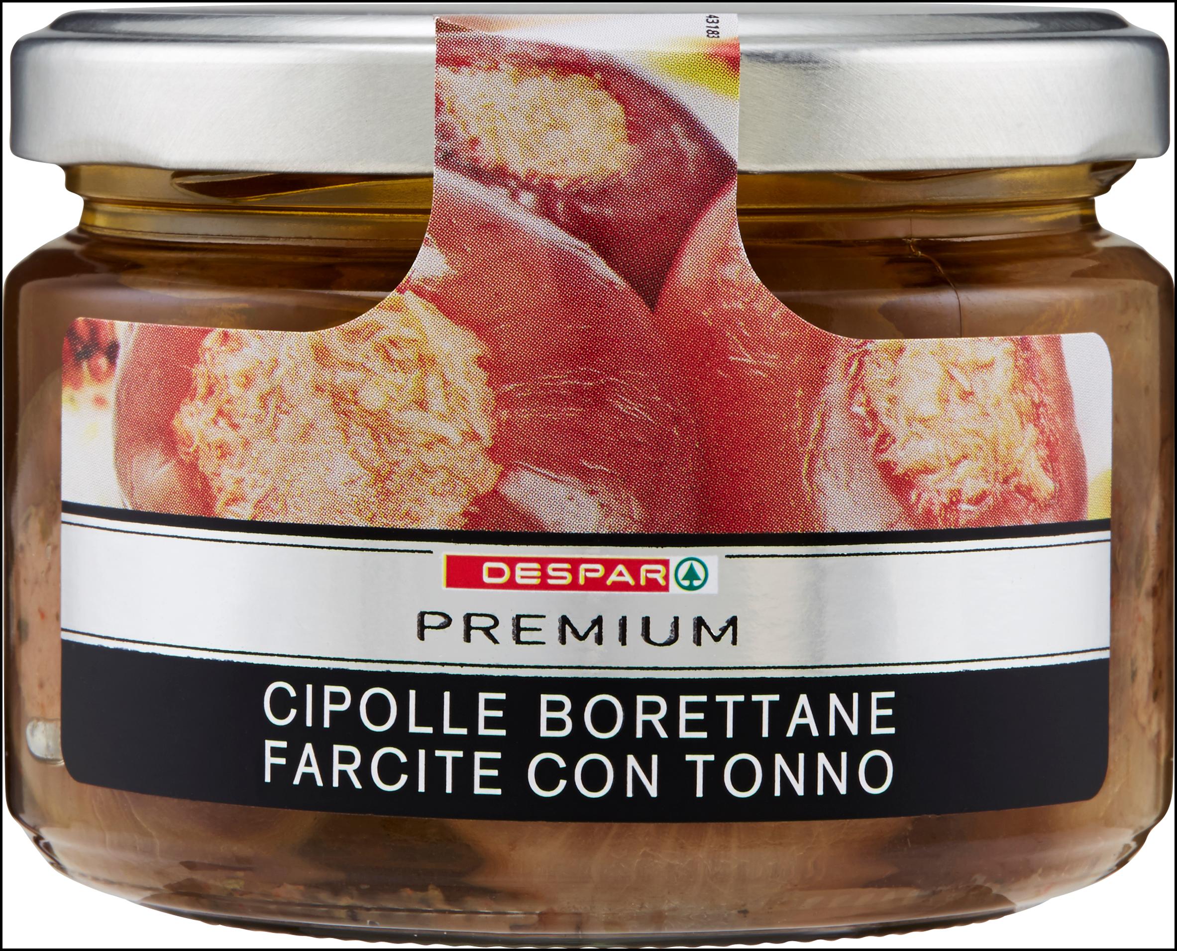 CIPOLLE FARCITE PREMIUM 240G C/TONNO