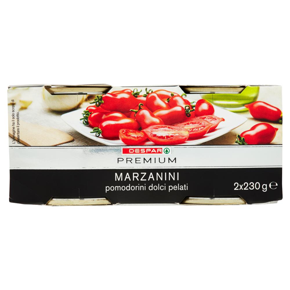 Despar Premium Marzanini pomodorini dolci pelati 2 x 230 g