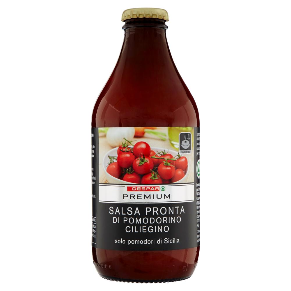 Despar Premium Salsa Pronta di Pomodoro Ciliegino 330 g