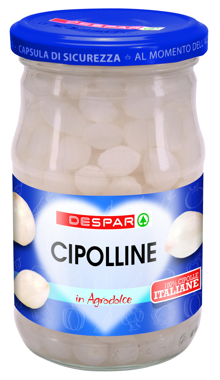 CIPOLLINE DESPAR 280G IN AGRODOLCE