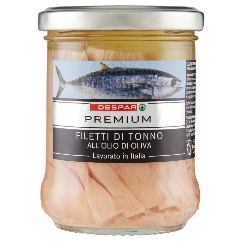 Despar Premium Filetti di Tonno all'Olio di Oliva 200 g