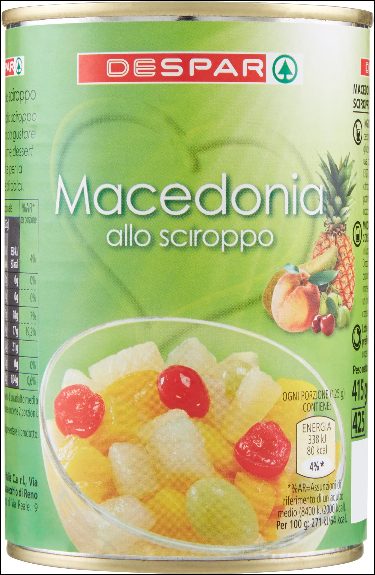 MACEDONIA DESPAR 411G