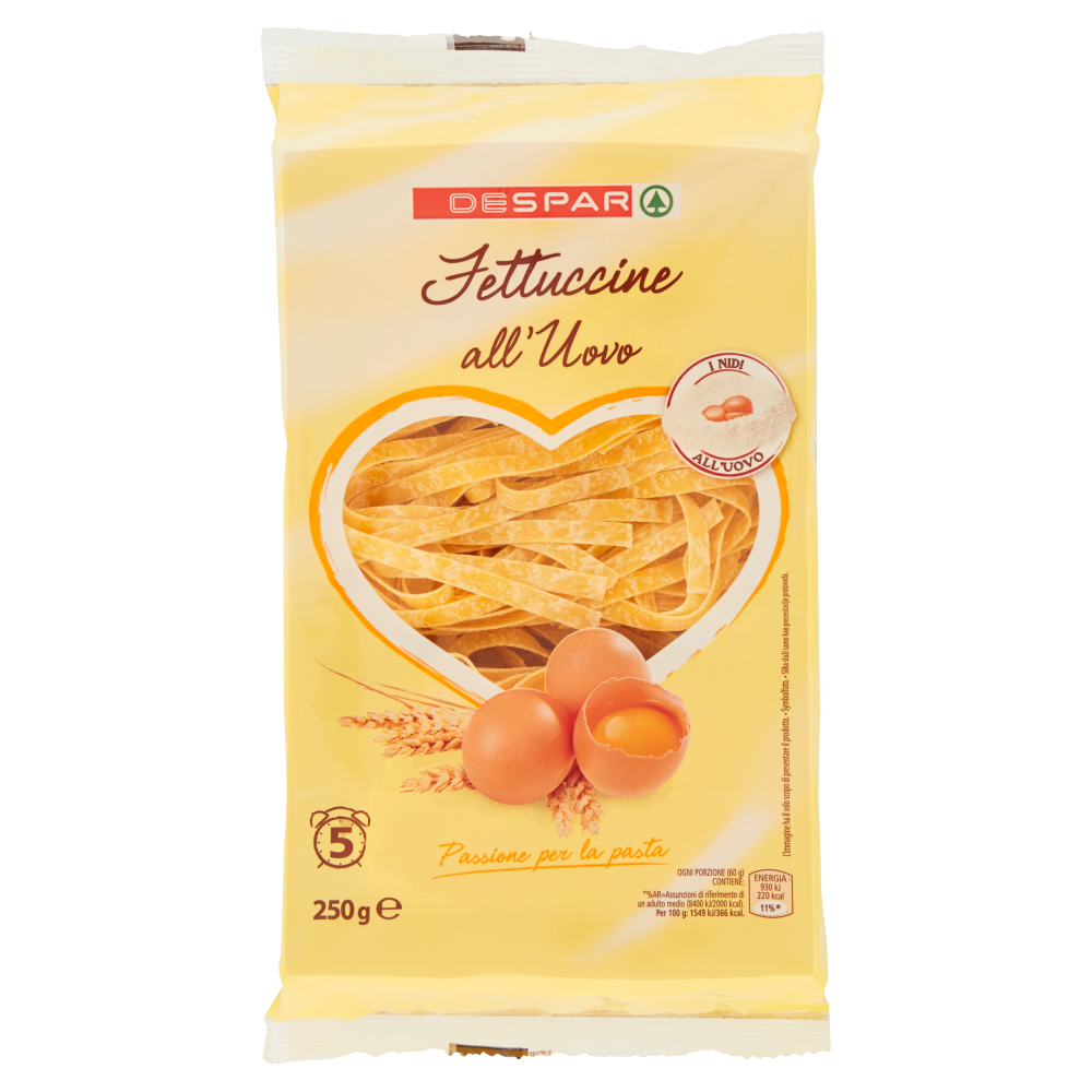 Despar Fettuccine all'Uovo 250 g