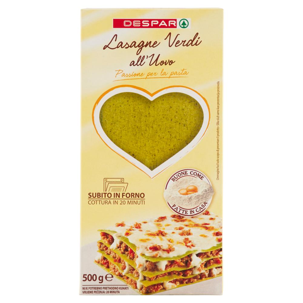 Despar Lasagne Verdi all'Uovo 500 g
