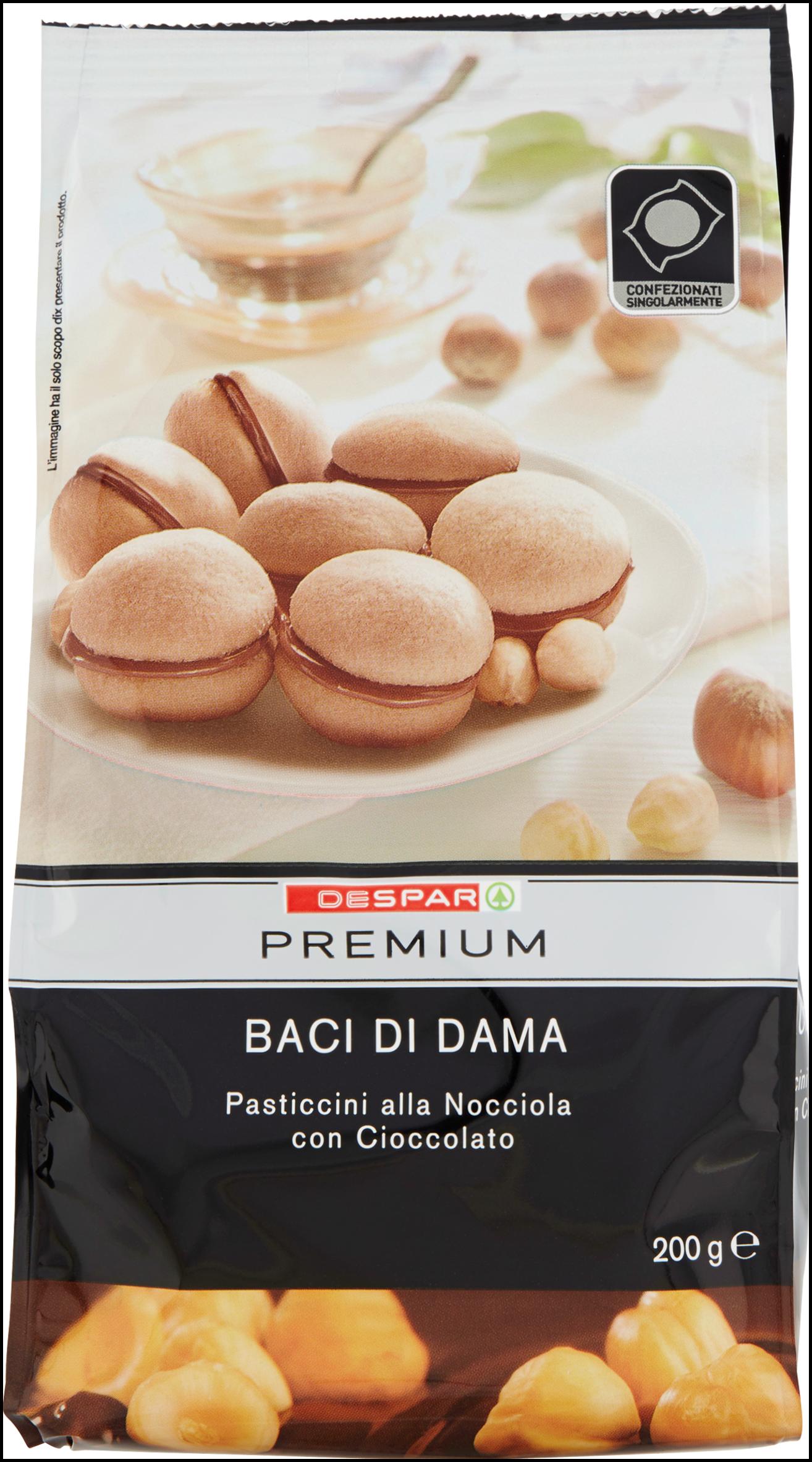 BACI DI DAMA PREMIUM 200G