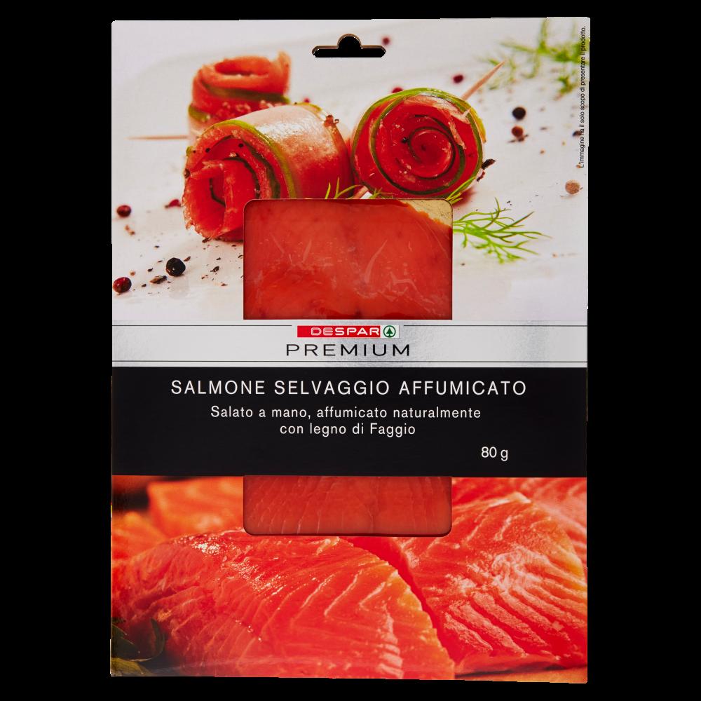 Despar Premium Salmone Selvaggio Affumicato 80 g