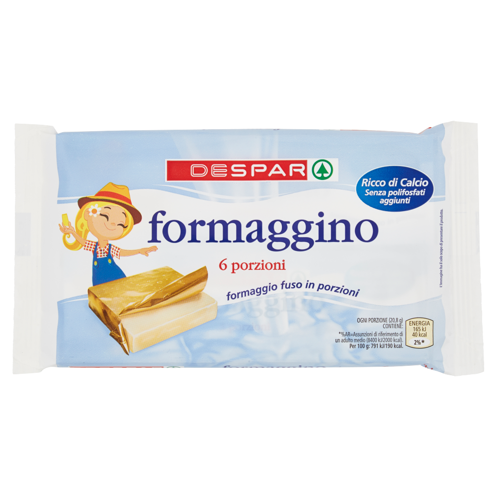 Despar formaggino 2 x 62,5 g