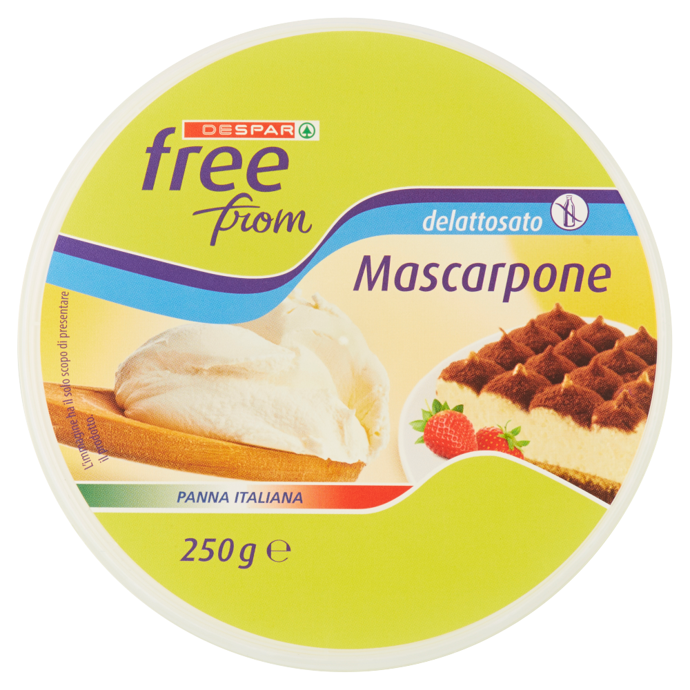 Despar free from Mascarpone delattosato 250 g
