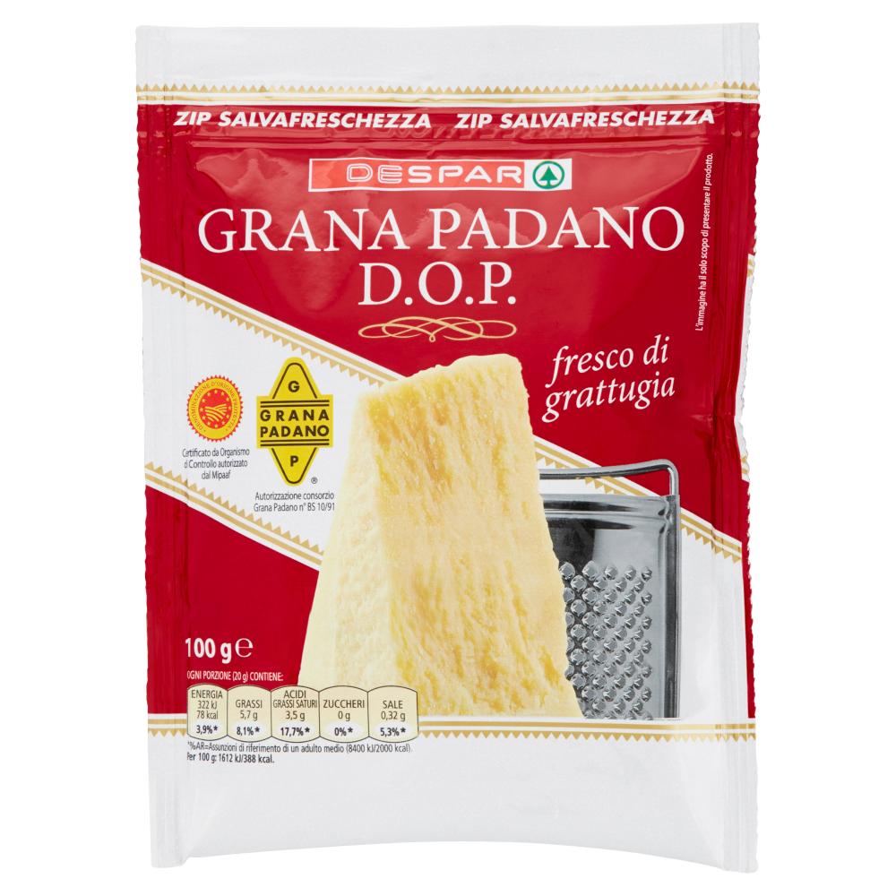 Despar Grana Padano D.O.P. fresco di grattugia 100 g