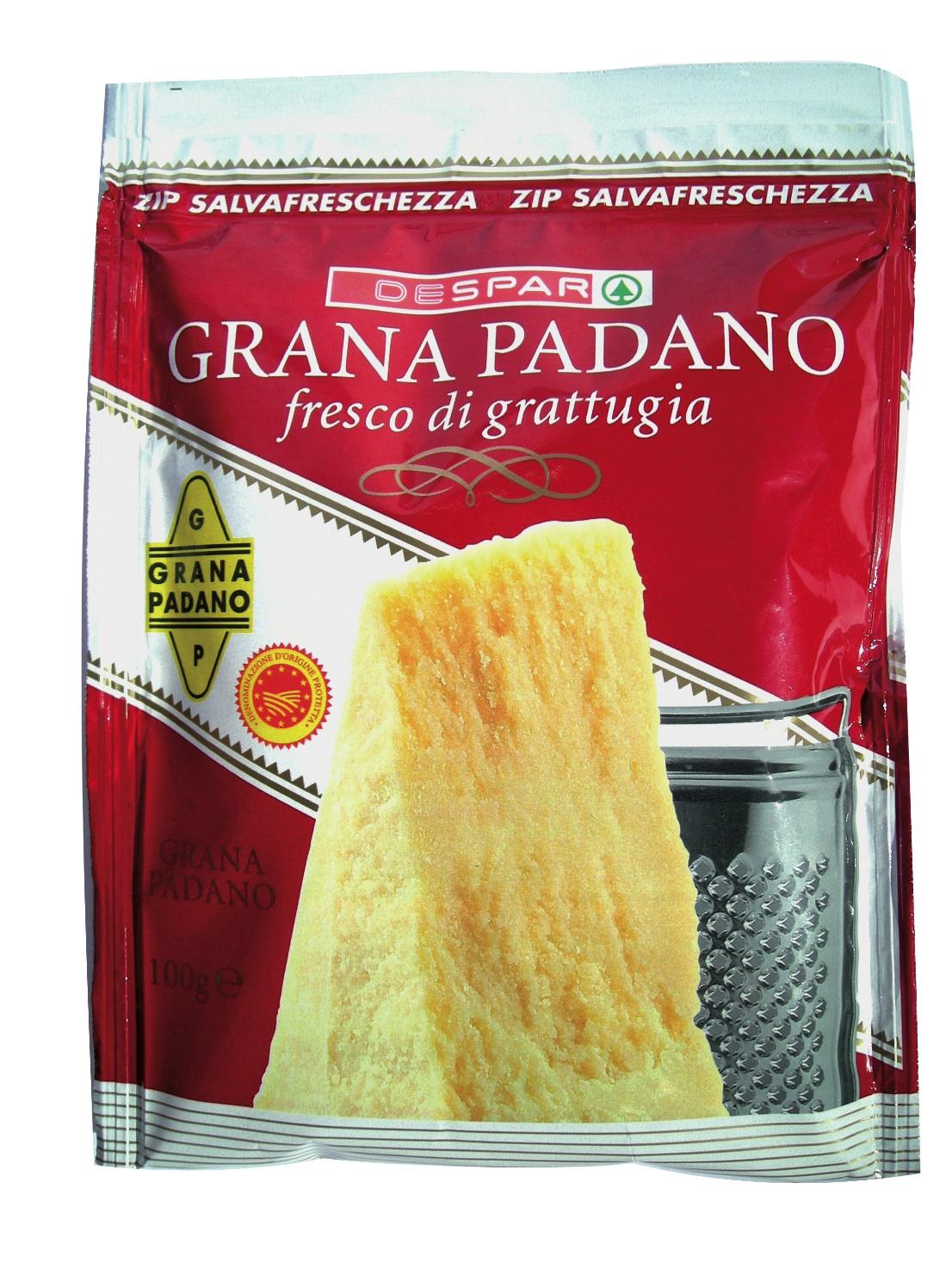 GRANA PADANO GRATTUGIATO DESPAR 100G