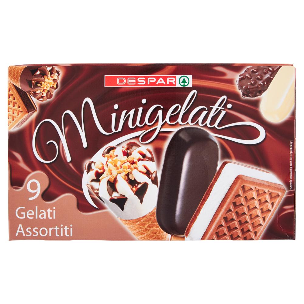 Despar Minigelati 9 Gelati Assortiti 300 g