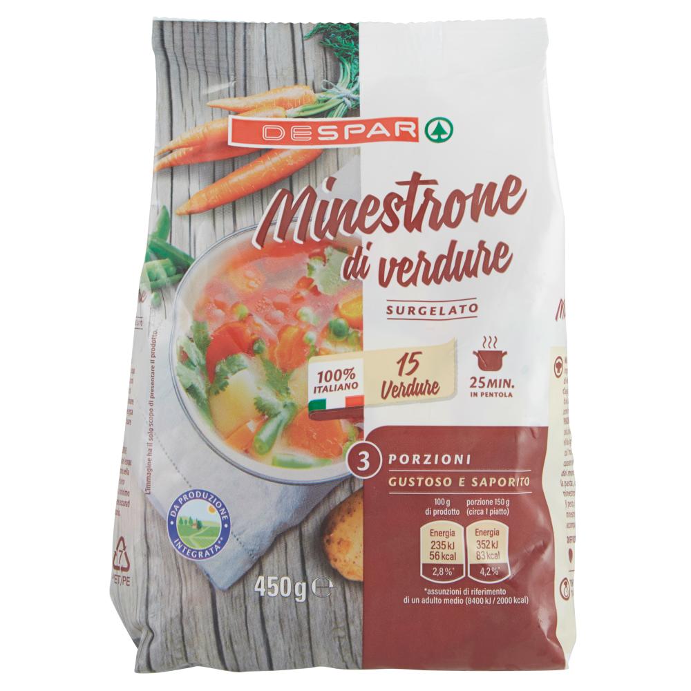 Despar Minestrone di verdure Surgelato 450 g