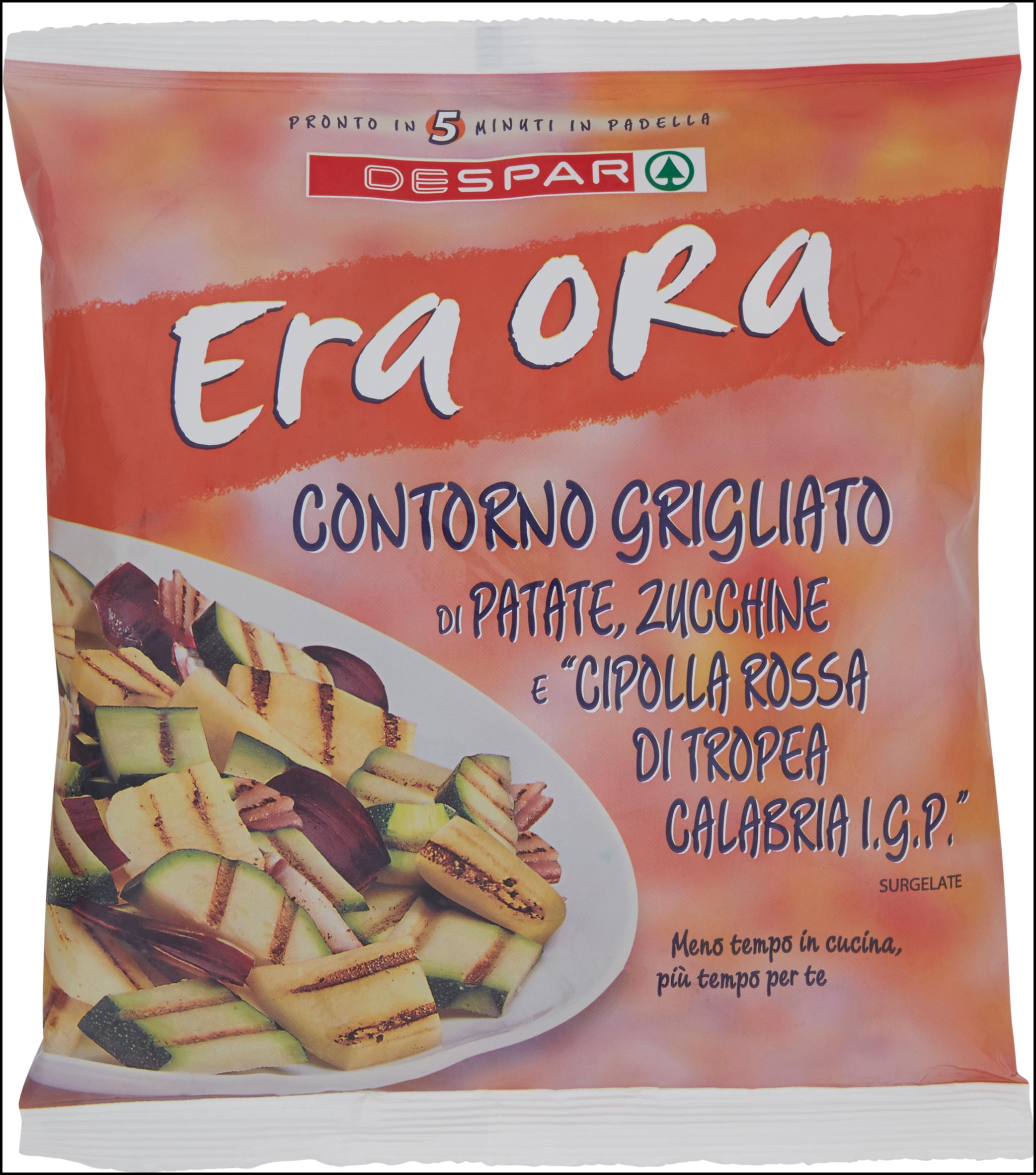CONTORNO GRIGL. PAT/ZUC/CIP ERA ORA 450G