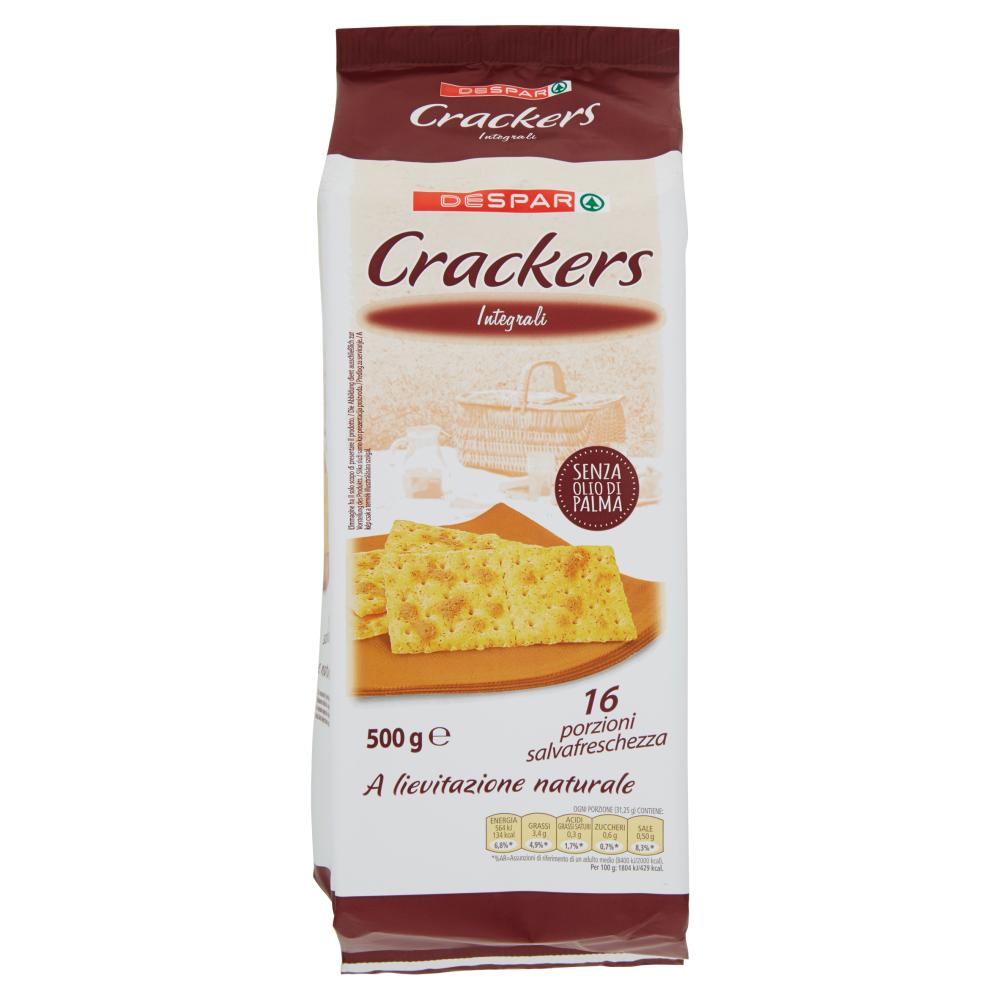 Despar Crackers Integrali 500 g