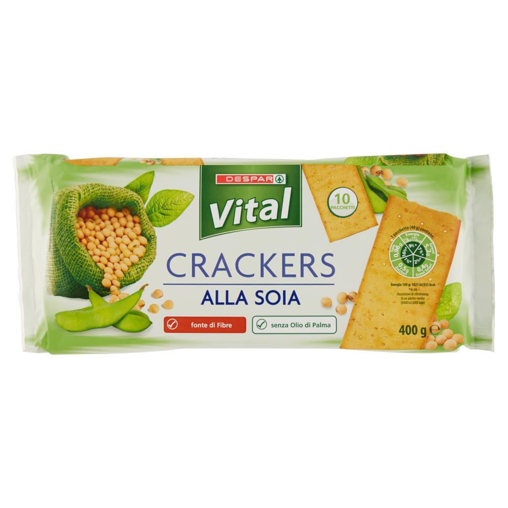 Despar Vital Crackers alla Soia 10 x 40 g