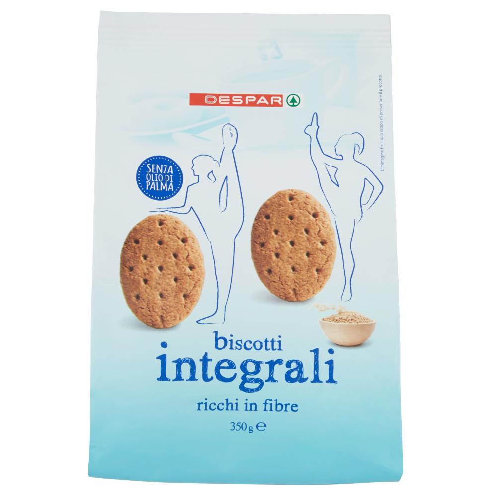 Despar biscotti integrali 350 g