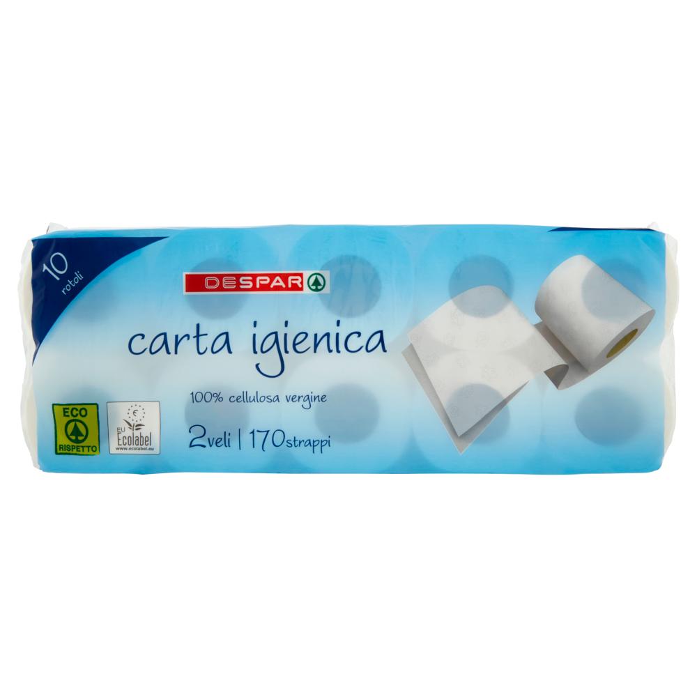 CARTA IG. DESPAR 10 ROTOLI SCELTA VERDE