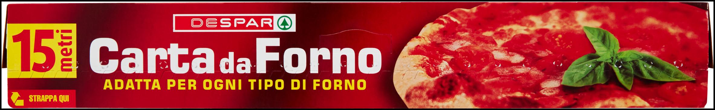 CARTA FORNO DESPAR MT.15